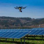 Termografia con drone di campi fotovoltaici