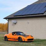 Quanti pannelli fotovoltaici servono per caricare un'auto elettrica?