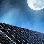 I pannelli fotovoltaici producono energia con la luce lunare?