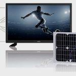 Posso alimentare un televisore con un pannello solare?