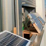 Posso installare pannelli fotovoltaici sul mio balcone?