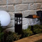 Come scegliere le lampade solari da giardino