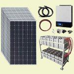 Cosa occorre per un sistema fotovoltaico off-grid?