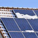 Come togliere la neve dai pannelli fotovoltaici