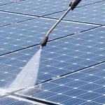 Posso pulire i pannelli fotovoltaici con l'idropulitrice?